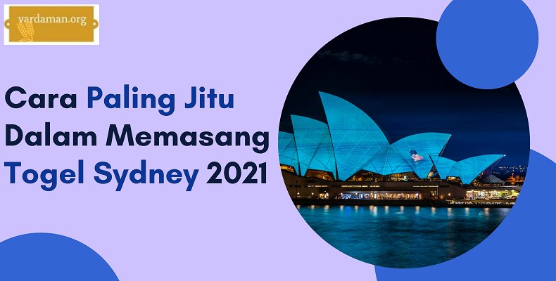 Banner Cara Paling Jitu Dalam Memasang Togel Sydney 2021